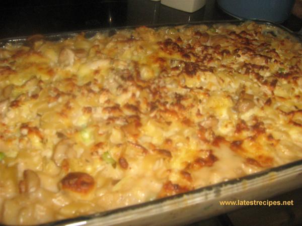 Chicken Tetrazzini Latest Recipes