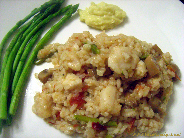 rice_with_mushrooms_fish_and_asparagus_2