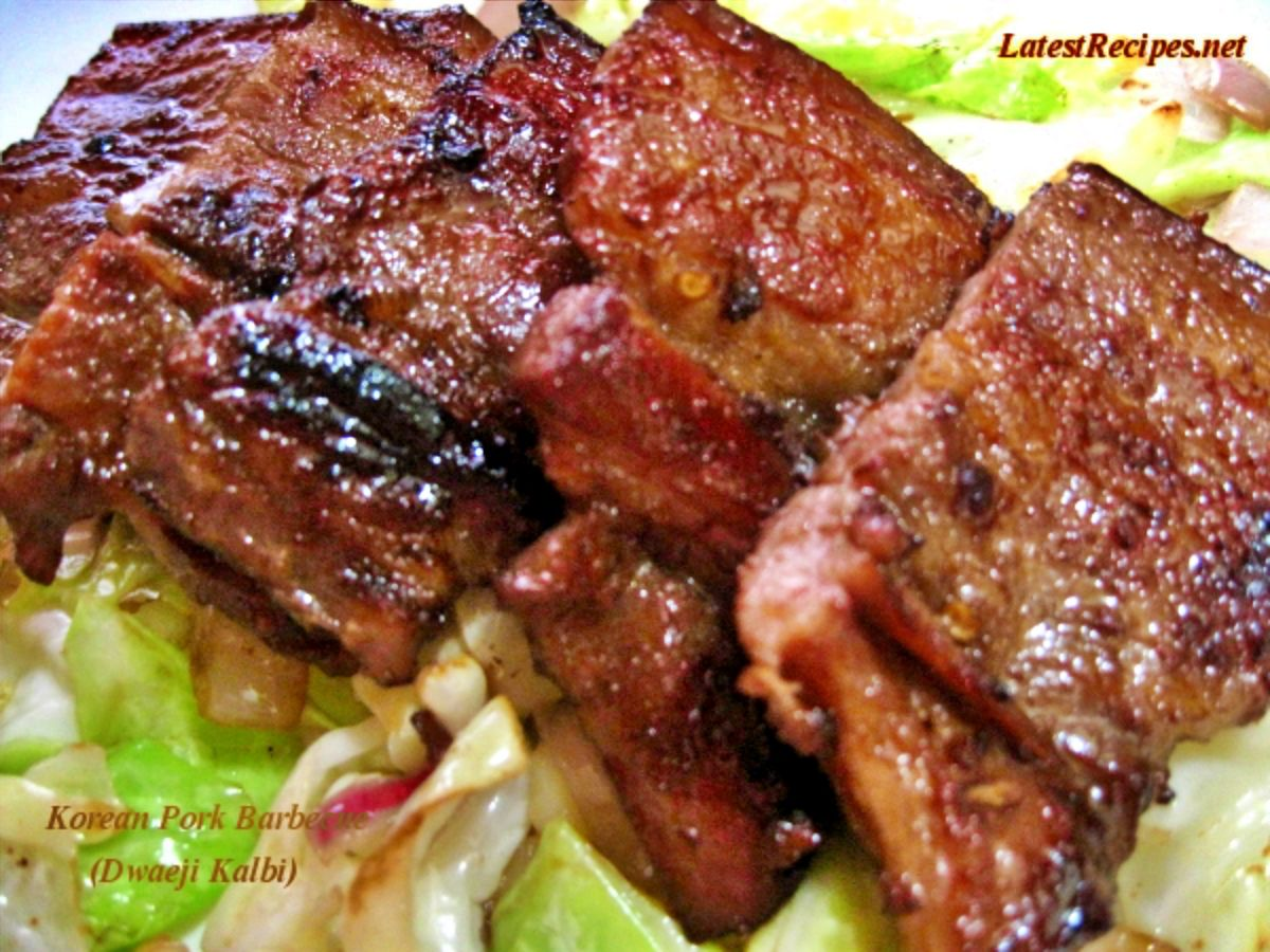 Dwaeji Kalbi Sweet And Spicy Korean Pork Barbecue