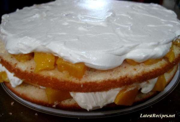Mango Layer Cake Biscuit De Savoie Latest Recipes