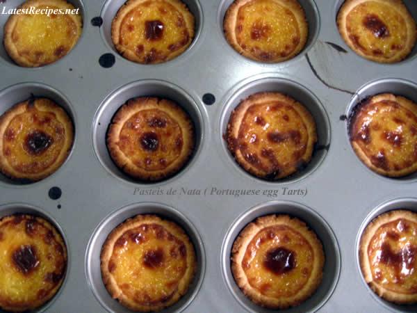 Pasteis de Nata ( Portuguese-style Egg Tarts)