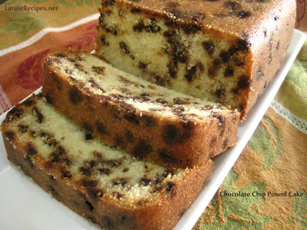 How To Make A Chocolate Chip Loaf Cake
