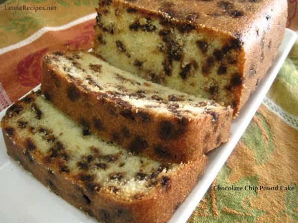 Chocolate Chip Pound Cake Latest Recipes