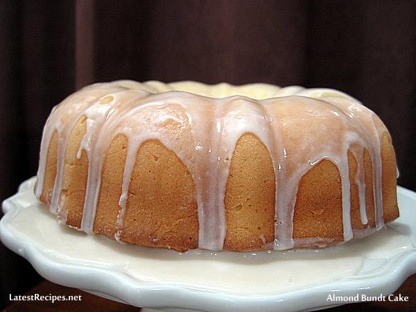Almond Cream Cheese Pound Cake