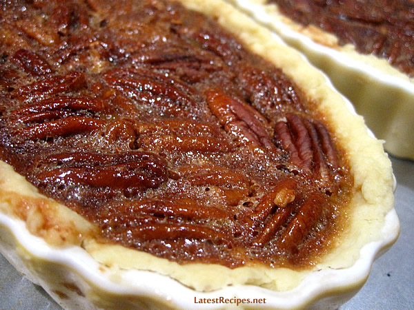 Pecan Pie with Rum & Honey