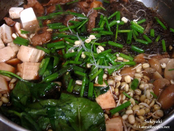 Sukiyaki (すき焼き)
