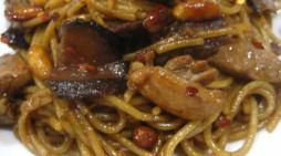 Spaghetti with Spicy Oriental Sauce (Charlie Chan Chicken Pasta Copycat)