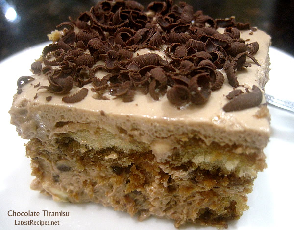 Chocolate Tiramisu | Latest Recipes