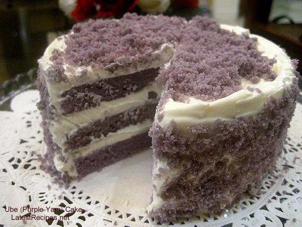 Japanese Yam Cake Recipe