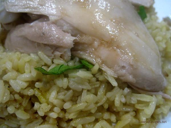 Hainanese Chicken Rice   Latest Recipes