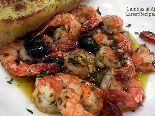 Gambas Al Ajillo Garlic Shrimp In Olive Oil