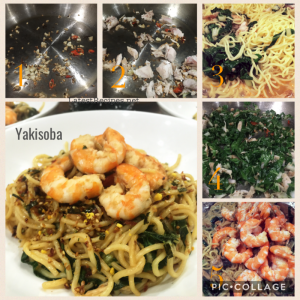 Shrimp chicken yakisoba japanese stir fried noodles latest recipes ive tried all veggies only sometimes with just chicken or pork and ive try it with ham too forumfinder Choice Image