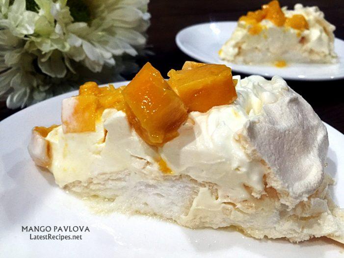 Mango Pavlova