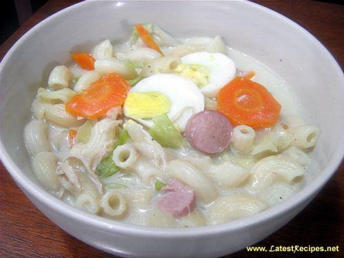 Macaroni Soup (Sopas)