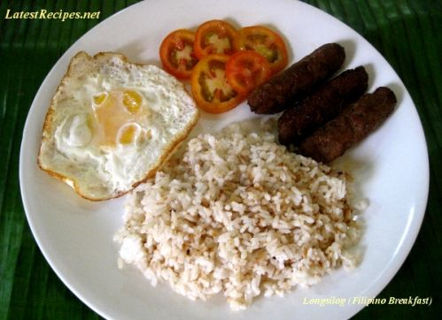 Homemade Skinless Longganisa ( Filipino Breakfast Sausage)