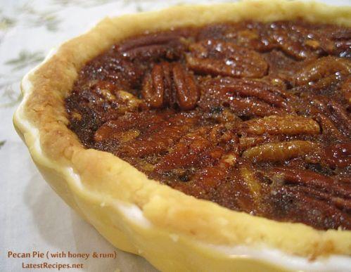 Pecan Pie with Rum & Honey